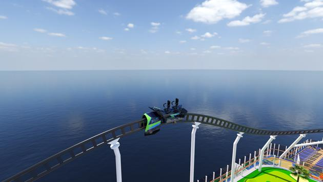 Bolt roller coaster, Carnival Cruise Line