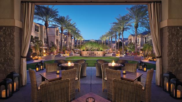 Sonesta Suites Scottsdale Gainey Ranch - patio and courtyard