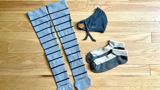 Компрессионные носки и маска Comrad