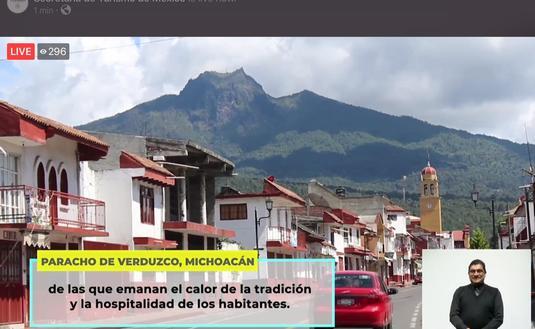 El Pueblo Mágico de Paracho, Michoacán, es un destino popular entre viajeros nacionales e internacionales. (Foto de Sectur)