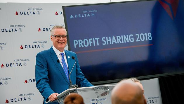 Delta's Chief Executive Officer Ed Bastian