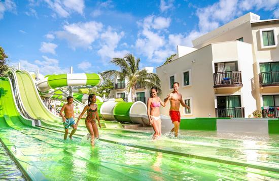 Sandos Caracol Eco Resort's Aqua Park