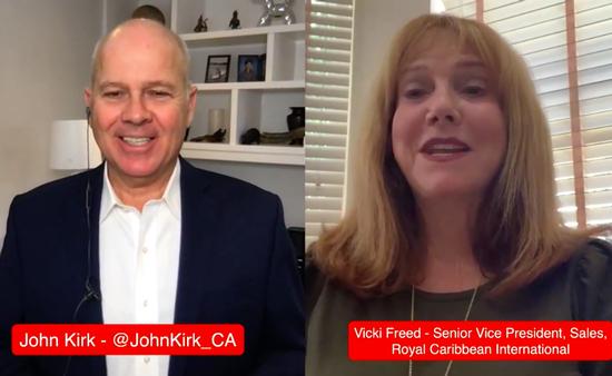 Vicki Freed en entrevue avec John Kirk