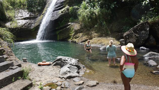 A Grenada waterfall