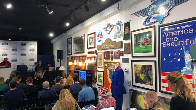 Van Eaton Galleries' Remembering Disneyland auction