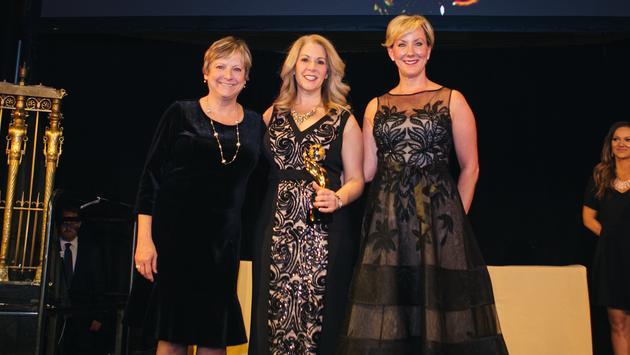TravAlliancemedia's Theresa Norton (left) with the Royal Caribbean International team