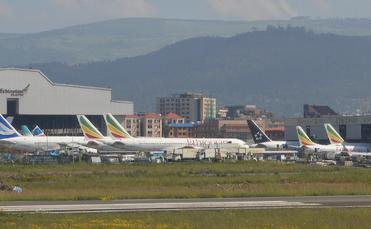 Addis Ababa Bole International Airport, Ethiopia