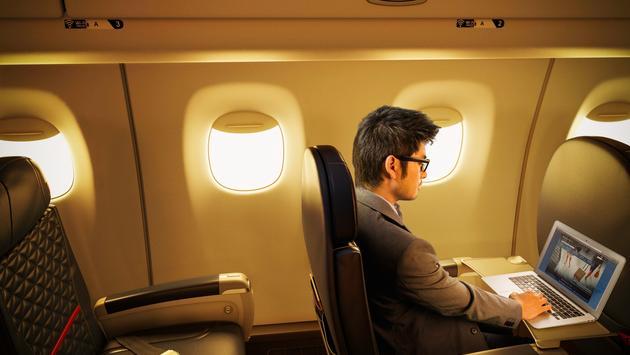 Delta corporate traveler