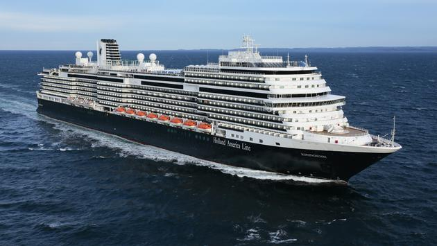 Holland America Line's Pinnacle-Class ship, the MS Koningsdam.