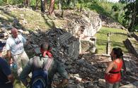 Lubaantun site in Belize