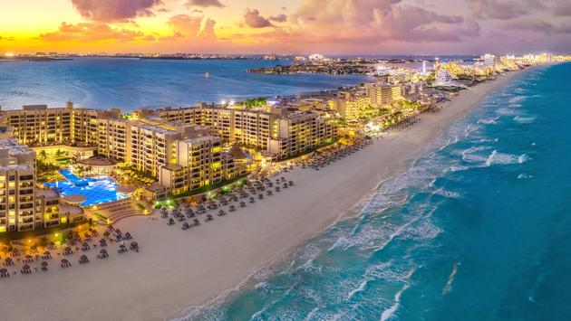 Atardecer en Cancún. (Foto iStock/Getty Images Plus/Jonathan Ross)