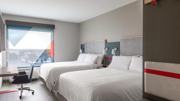 Avid hotel bedroom
