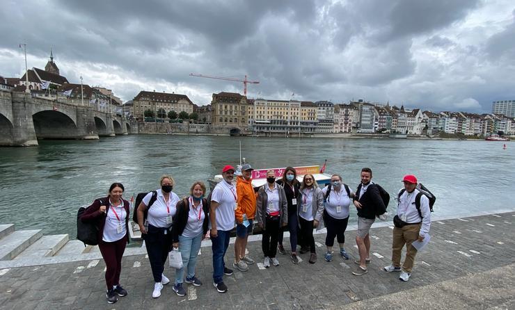 Air Canada Travel Agents Race, Basel, Switzerland