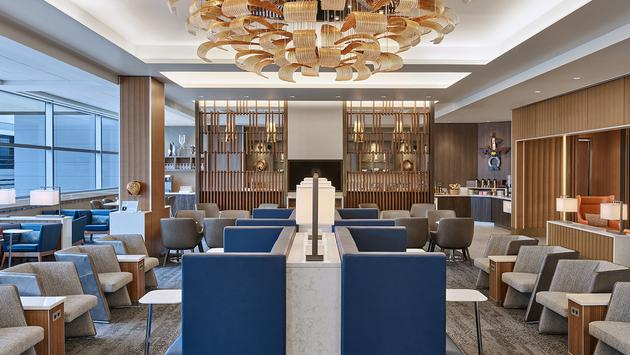 The new Delta Sky Club at Phoenix Sky Harbor International Airport