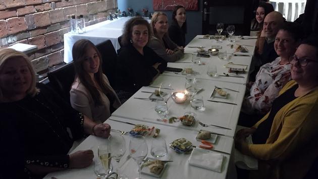 Souper organisé au restaurant Europea par San Francisco Travel.