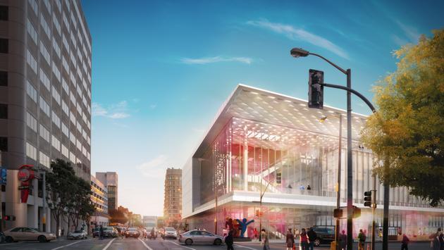 Le nouveau Moscone Center de San Francisco.