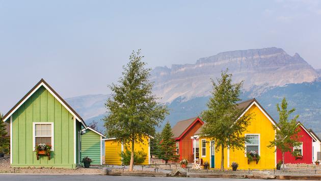 Tiny Home Village at St. Mary Village, Montana