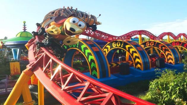 Slinky Dog Dash at Walt Disney World
