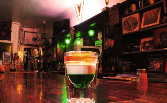 Golden Ace Inn, shot, Irish bar,