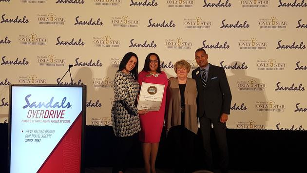 Adventure House Travel received a Chairman's Sales Achievement Award.