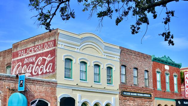 downtown Fernandina Beach, Amelia Island, Florida