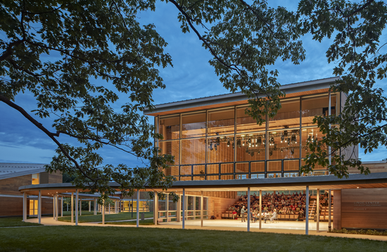 The Linde Center for Music and Learning at Tanglewood