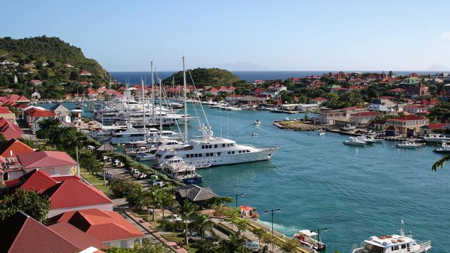 Gustavia Harbor - Saint Barthelemy FWI
