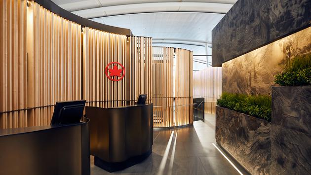 Suite Signature, salon Feuille d'érable, Air Canada