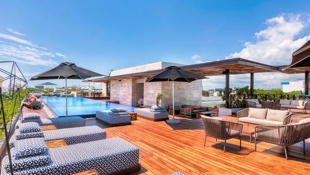 The Yucatan Resort Playa Del Carmen's Rooftop Pool