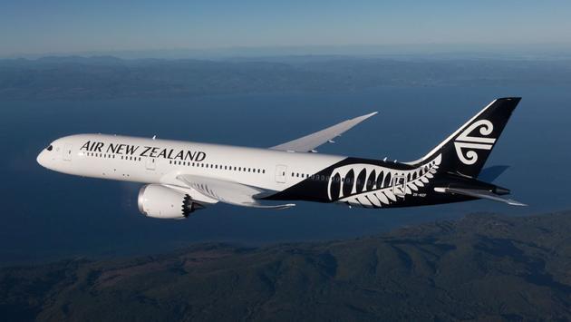 Air New Zealand Dreamliner in flight