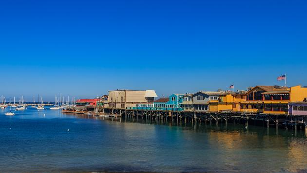 Old Fisherman's Wharf in Monterey, California