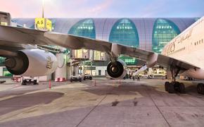 Plane, Dubai, Airport