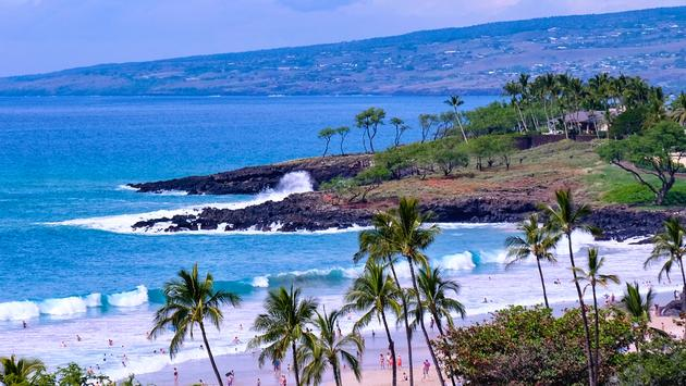 The Kona Coast of Hawaii Big Island
