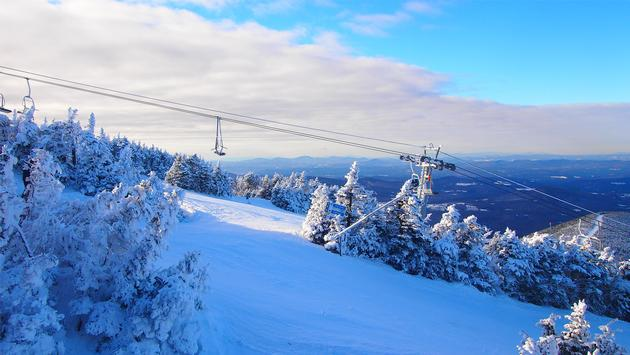 Skiing the White Mountains in New Hampshire