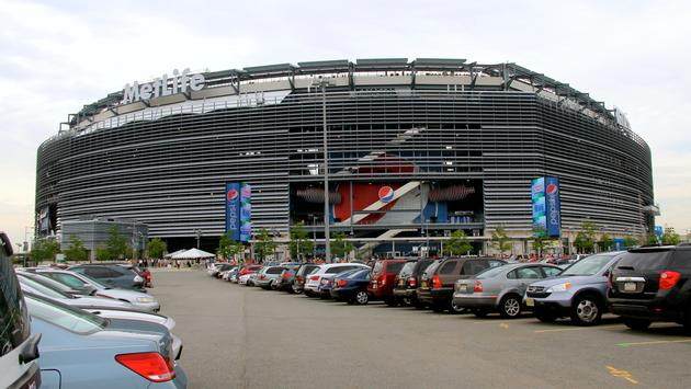 MetLife Stadium in East Rutherford, New Jersey