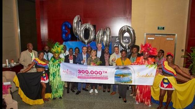 Antigua-et-Barbuda accueillent leur 300 000e visiteur