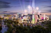 Artist's rendering of San Juan's upcoming El Distrito entertainment complex.