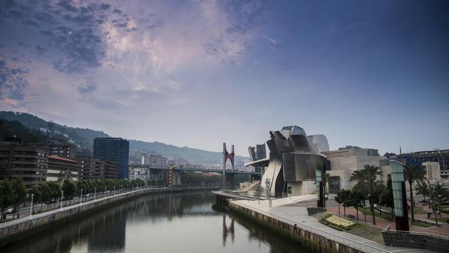 Guggerheim Museum in Bilbao, Spain