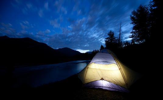 Camping in Montana's Glacier National Park