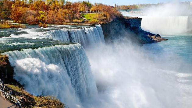 The American side of Niagara Falls