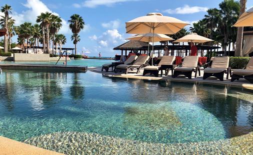 Pool at Secrets Playa Mujeres, Mexico