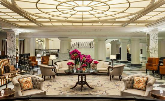 Le lobby redessiné du Intercontinental New York Barclay