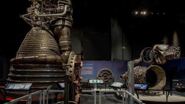 F-1 Engines, 'Destination Moon The Apollo 11 Mission.'