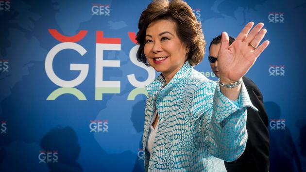 U.S. Secretary of Transportation, Elaine L. Chao at GES 2019