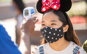 Temperature checks, Disney World