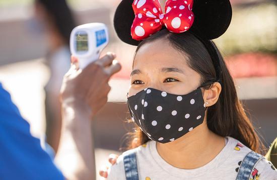 Temperature checks, Disney World