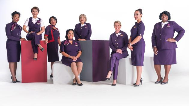 New Delta flight attendant uniforms premiering May 2018