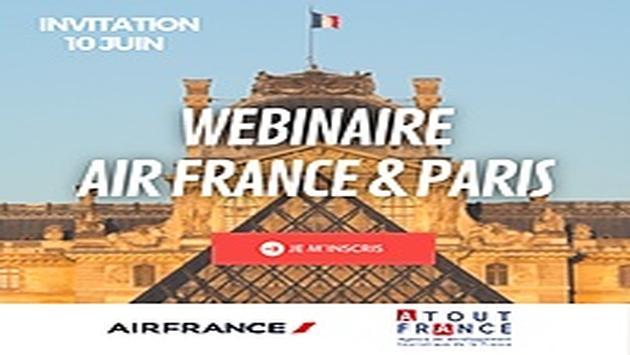 Webinaire Air France & Paris
