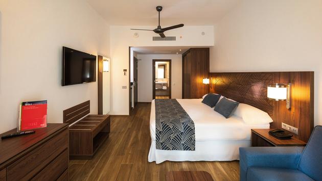 Refurbished double room at Riu Montego Bay