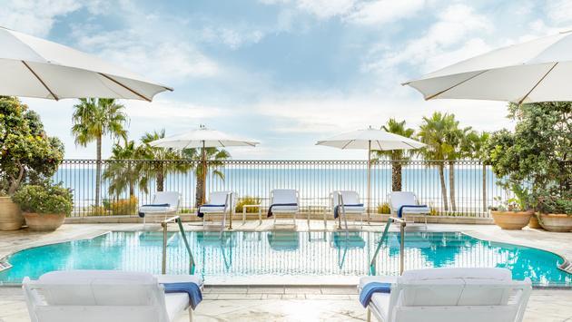 Hotel Casa Del Mar pool, Santa Monica